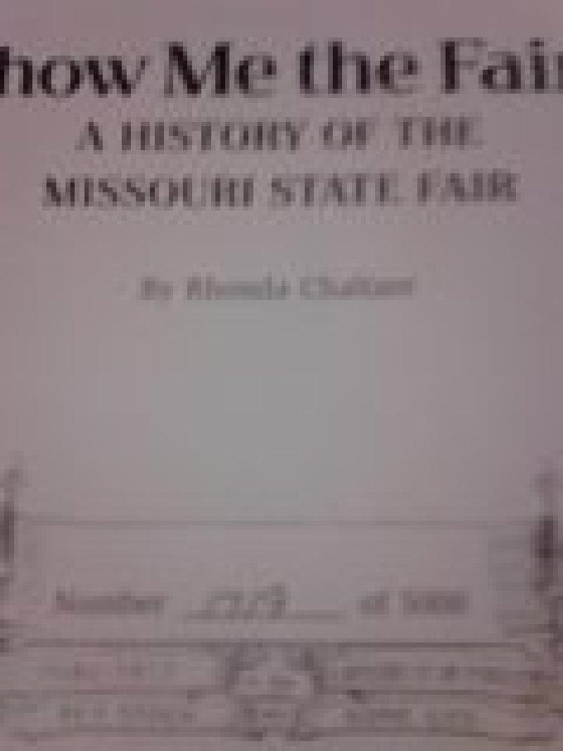 Missouri state fair dates in Sydney